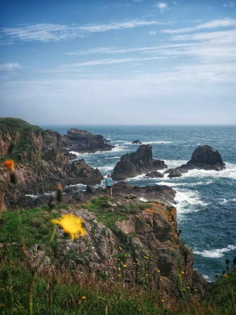 Reiseziele in Europa - Küste Aberdeenshire - Meer