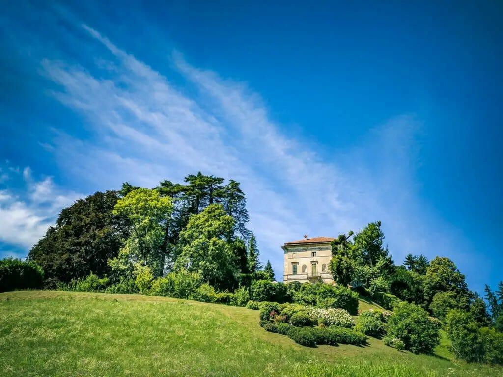 Villa Carcano in Lombardy