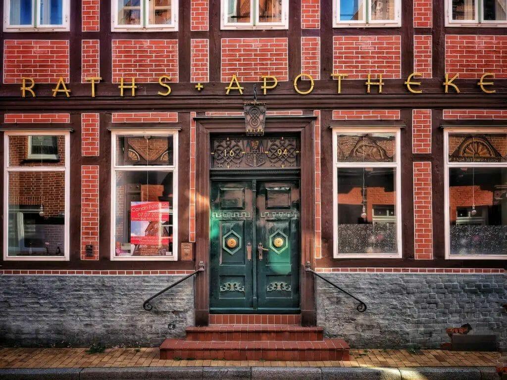 Lauenburg -Tür Alte Apotheke
