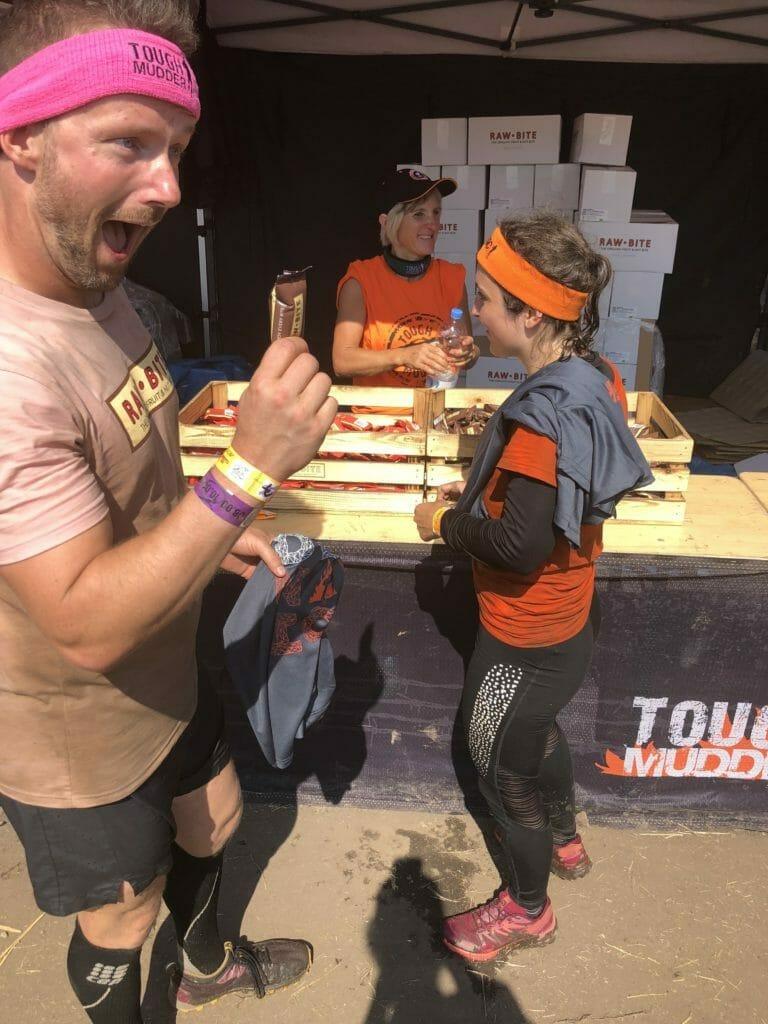 Tough Mudder-Belohnung