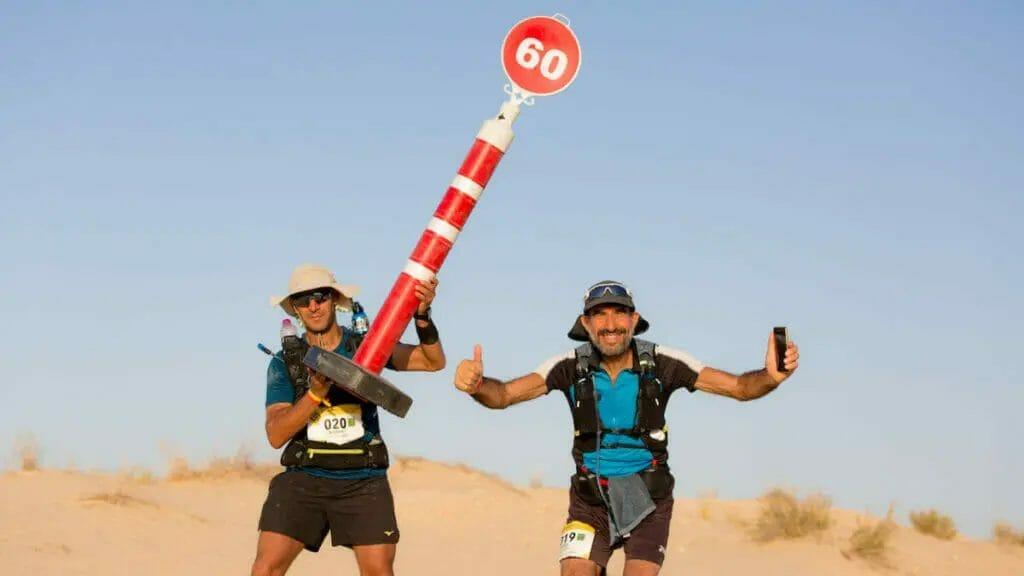 Ultra Mirage El Djerid - Wüstenläufer KM60