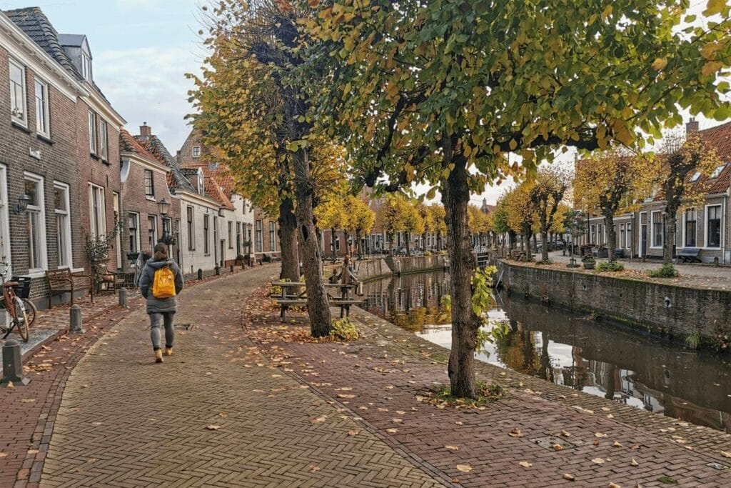 Reiseziele in Europa - Hasselt - Baangracht - Herbst