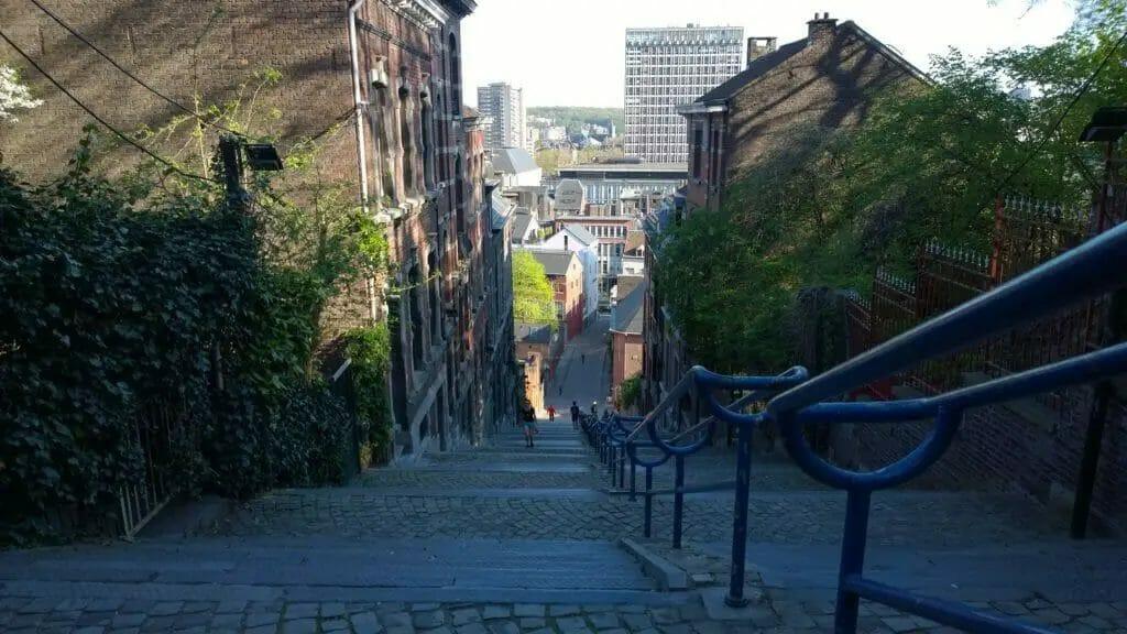 Lüttich - Belgien - Treppe