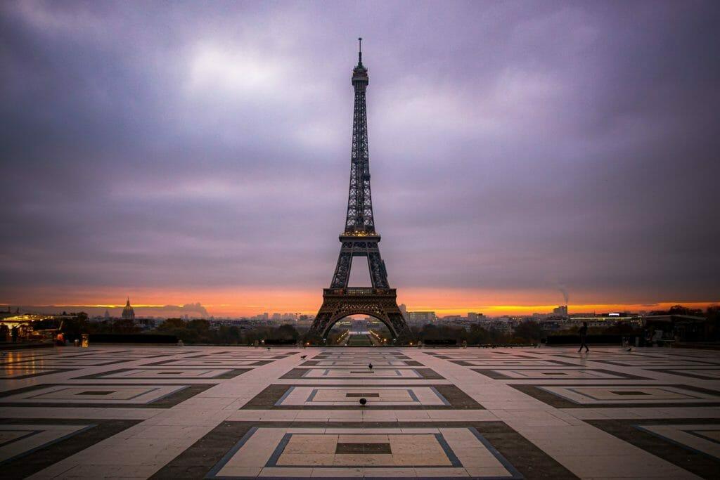 Eiffelturm - Trocadero