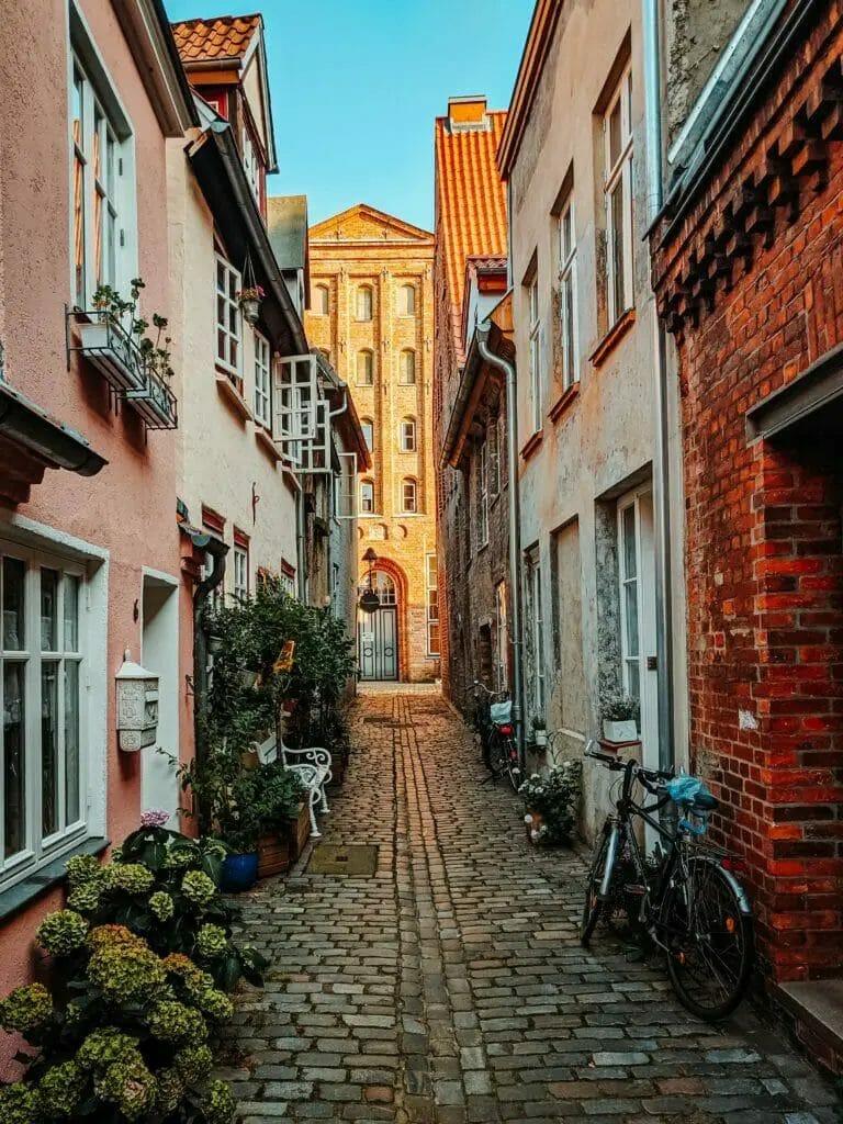 Fotospots Lübeck - Petersilienstrasse -Gasse
