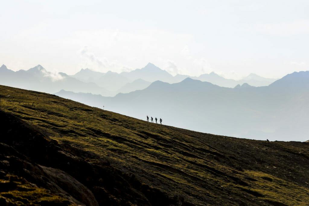 Mount Scenery - Himmel