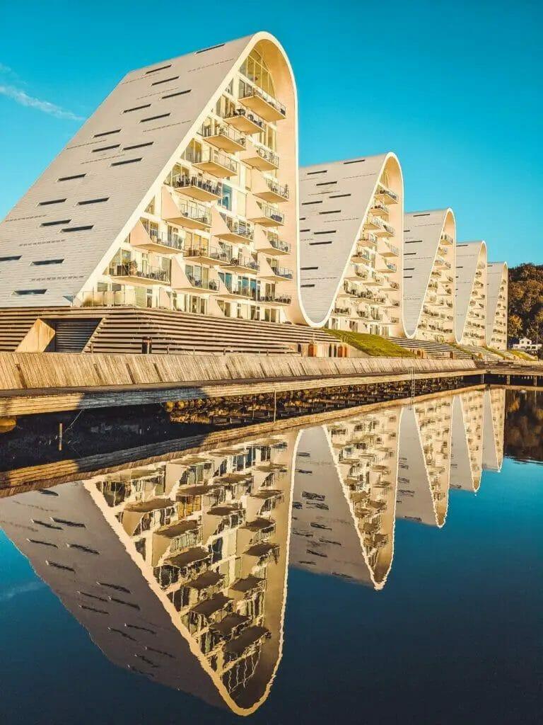 Vejle - Dänemark - Bølgen - Welle -Wasser