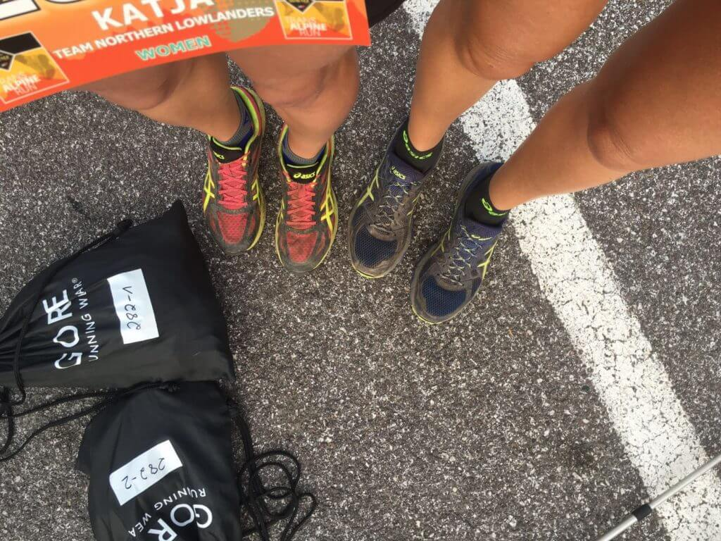 Ultramaraton Distanz - Dropbag