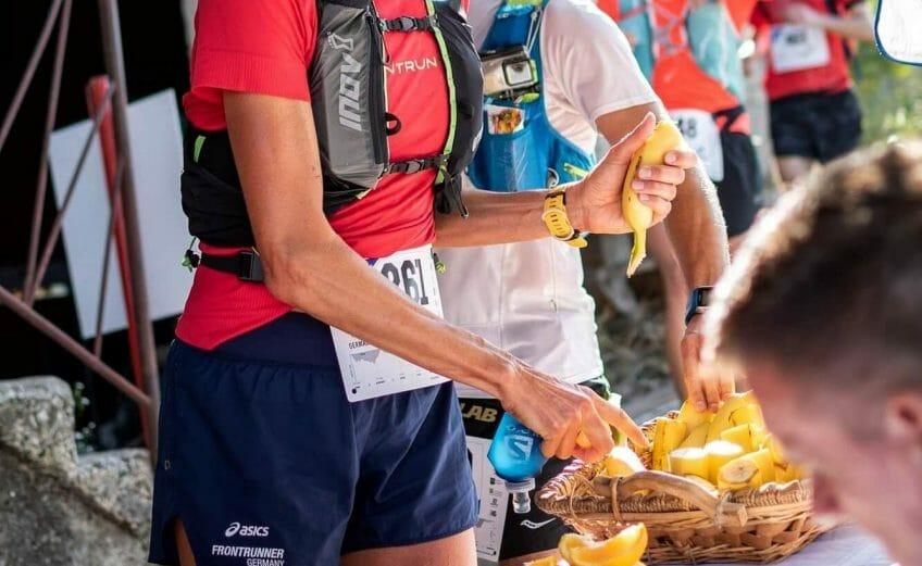 Ultramaraton Distanz - Verpflegungsstation 2