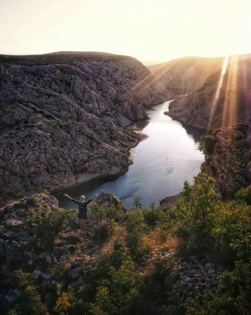 Fjord - Crater Lake