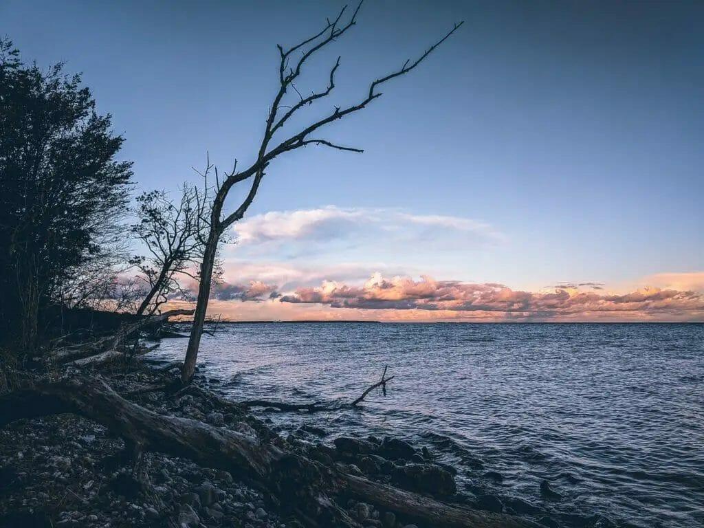 Urlaub Dänemark, Sonnenuntergang, Meer