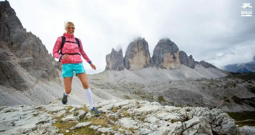 Trailrunning Judith Drei Zinnen