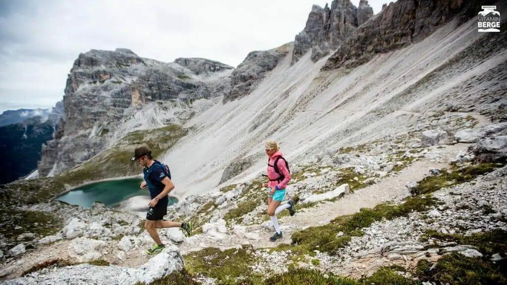 Trailrunning Judith und Dennis See