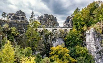 Ausflugsziele Sachsen - Basteibrücke - Coverbild
