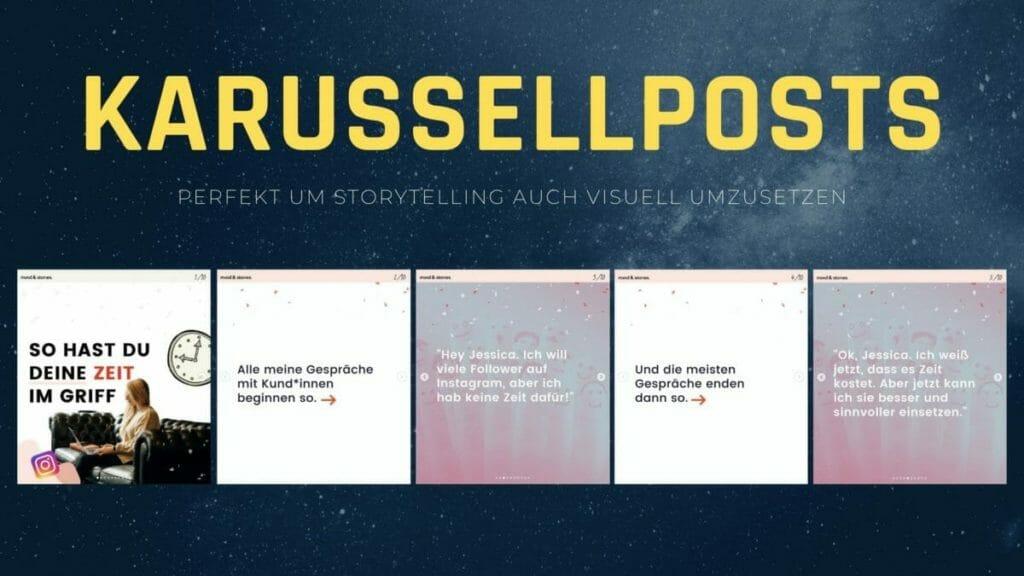 Instagram Tipps - Karussellposts