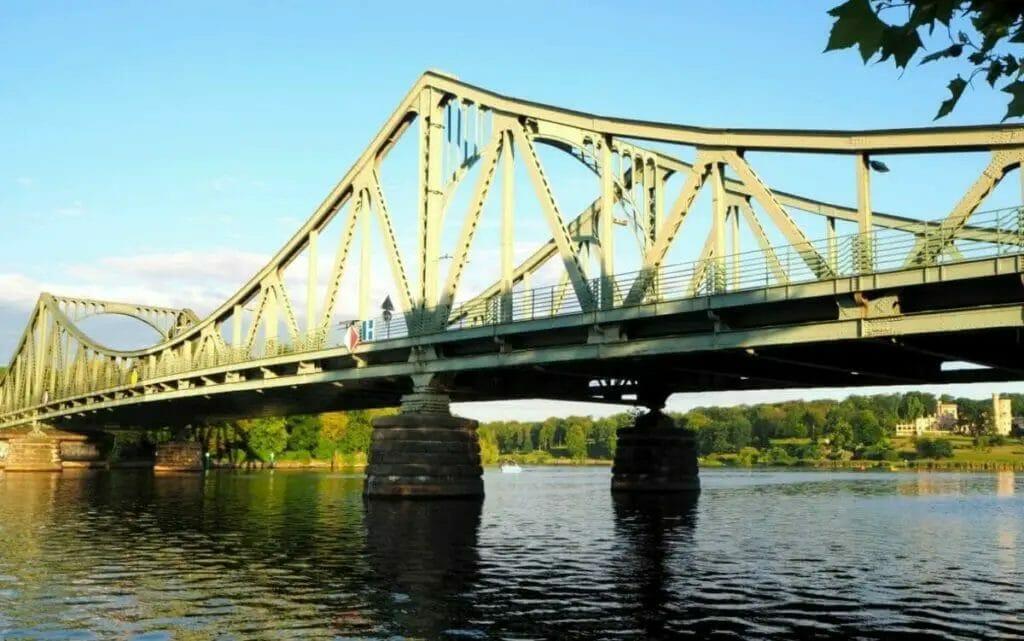 Ausflugsziele Brandenburg - Glienicker Brücke