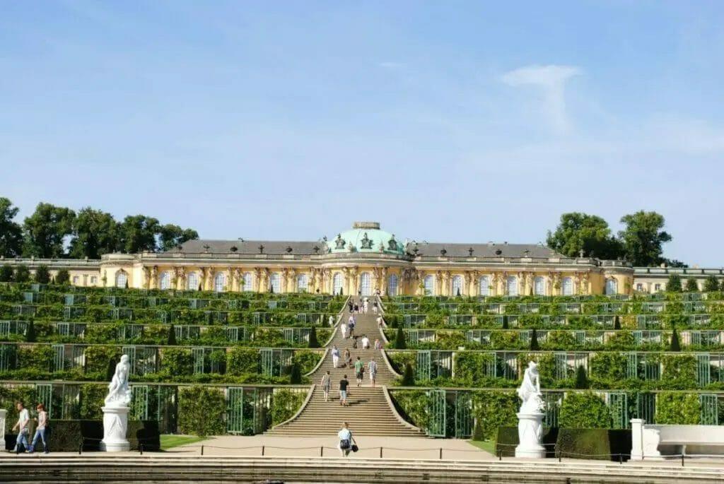 Ausflugsziele Brandenburg - Schloss Sanssouci