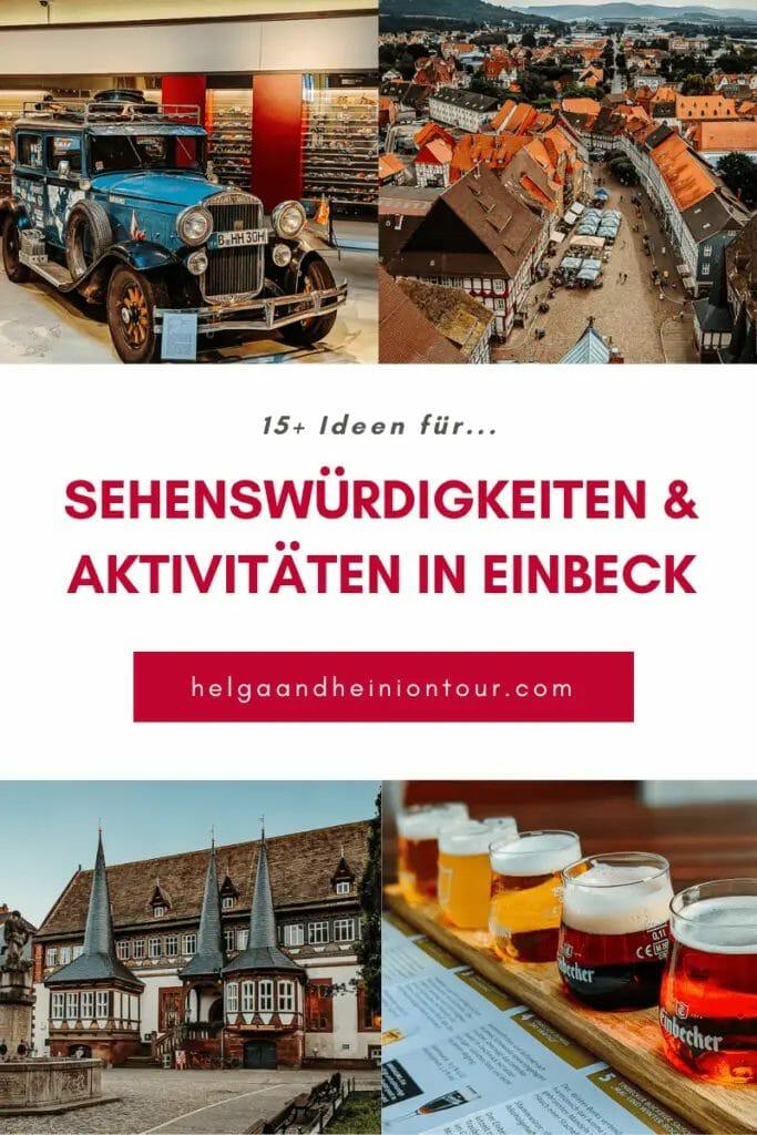 EINBECK - 15 SEHENSWÜRDIGKEITEN & AKTIVITÄTEN IN DER BIERSTADT 29